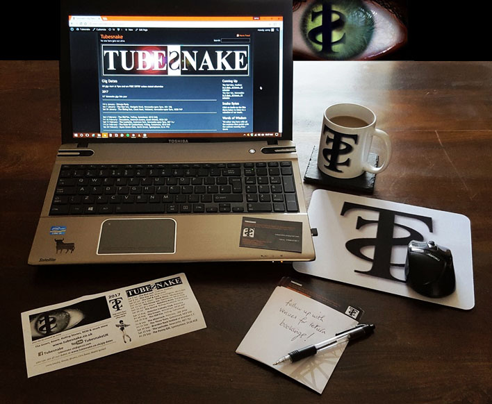 Tubesnake - Keep Informed & Get In Touch