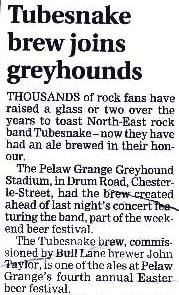 Northern Echo, Saturday 22nd March 2008