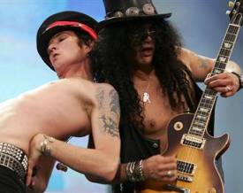 Scott and Slash