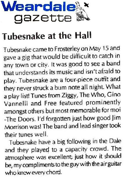 Weardale Gazette May 2004