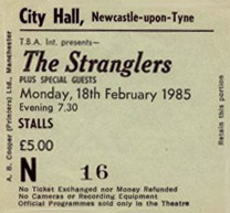 The Stranglers Newcastle City Hall 1985